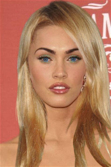 is megan kellys hair really blonde megan fox as a blonde by amaraaa on deviantart
