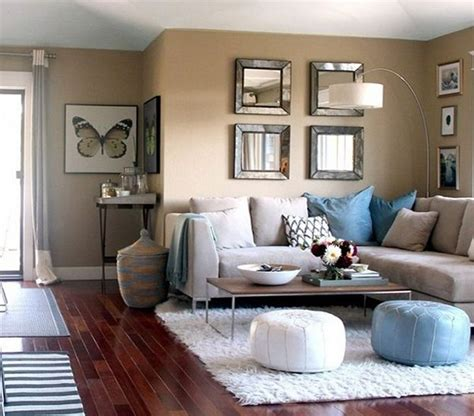 Brown And White Living Rooms by Painting Tips For Living Room Decor