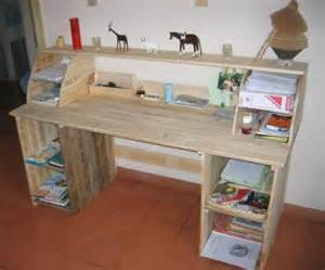 faire un bureau en bois de palette des mod 232 les