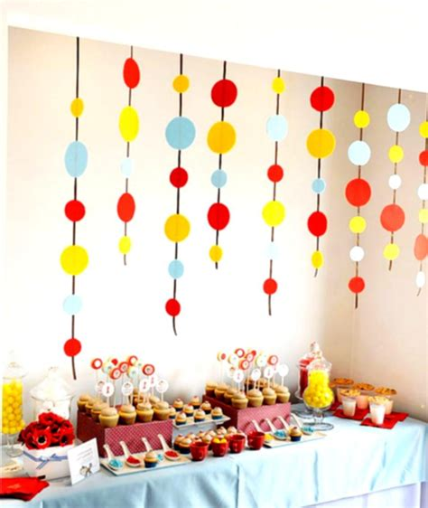 decorating ideas for birthday party at home birthday decoration ideas at home for boy nice decoration
