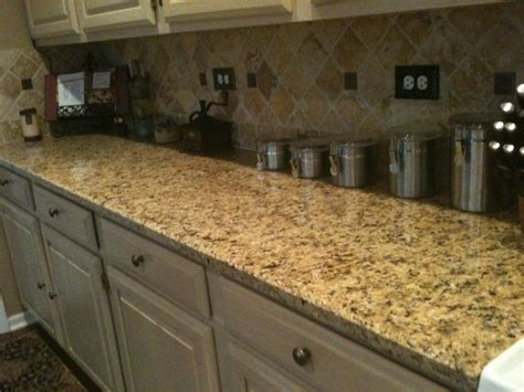 Italian Granite Countertops venetian gold granite countertop with travertine italian gold backsplash for the kitchen