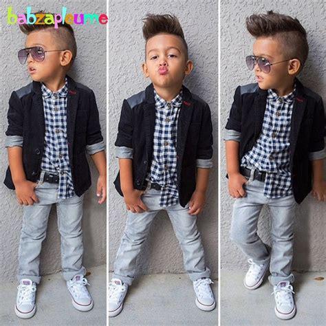 gentleman style kids boy clothes jacketshirtjeans pcs set toddler baby boy suit children