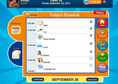 Schedule App Teaching Learners With Special Needs Calendar