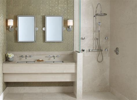 tile showers ideas bathroom contemporary with basin set