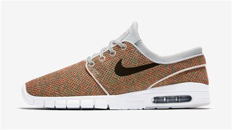 Sepatu Nike Stefanjanosky Max Pria nike sb stefan janoski max multicolor 631303 704 sneaker bar detroit