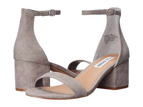 Steve Madden Irenee by Steve Madden Irenee Grey Suede Zappos Free Shipping Both Ways