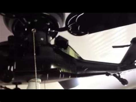 blackhawk helicopter ceiling helicopter ceiling fan youtube