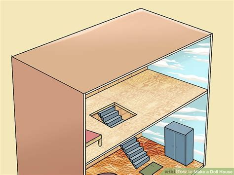 how make doll house 4 ways to make a doll house wikihow
