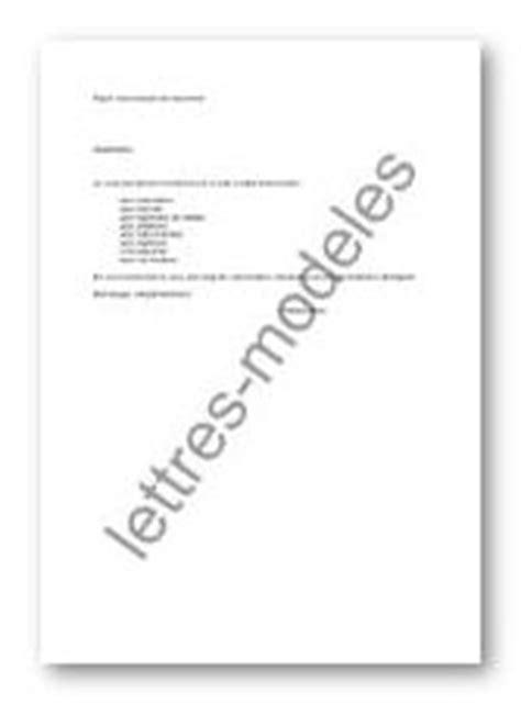 mod 232 le et exemple de lettres type transmission de document