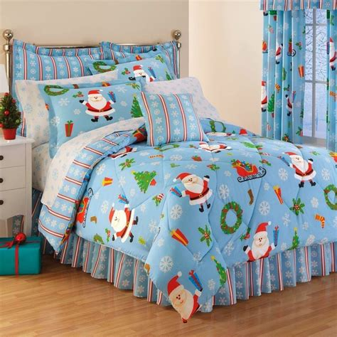holiday comforters sets cozy christmas bedroom decorating ideas festival around