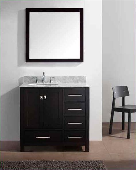 virtu usa bathroom vanities virtu usa 36 quot bathroom vanity set caroline avenue vu gs