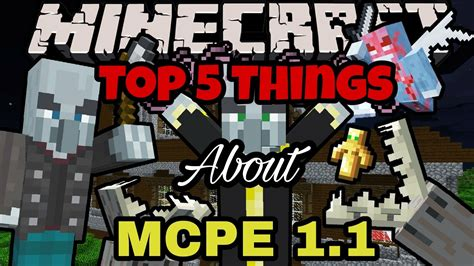 Top 5 Things You May Not Know About Minecraft Pe Mcpe - top 5 things you may not know about mcpe 1 1 youtube