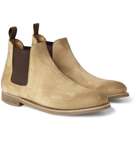 ralph washed suede chelsea boots shoes foot wear