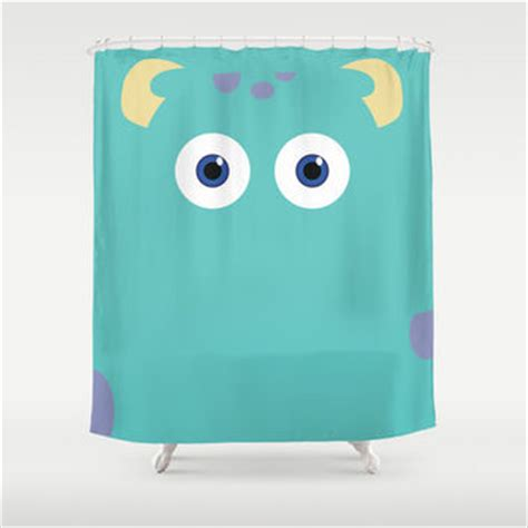 monster inc curtains best character shower curtains products on wanelo