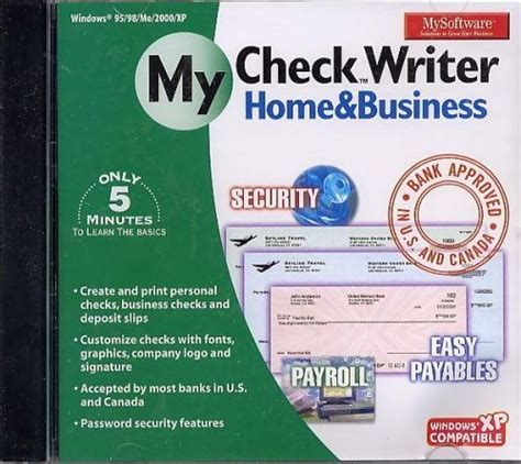 Checksoft Home And Business by Global Store Office Products Business Office
