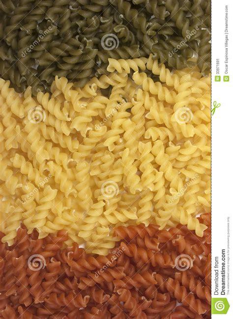 Macaroni Spiral By Macaroni Factory macaroni colorful pasta background stock image image 33971691