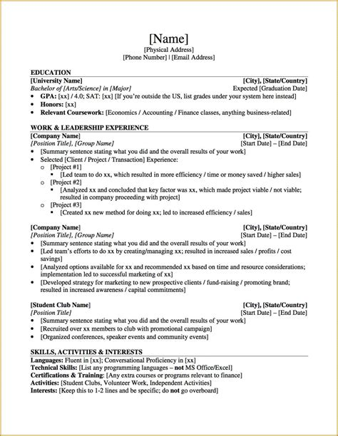 Resume For Grad School Psychology cv template graduate school psychology cv template