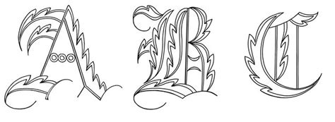 abc graffiti letters fancy abc wildstyle