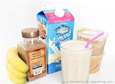Almond Milk Flavour 500gr Crunchy Peanut my quot get the day started quot smoothie domestically speaking
