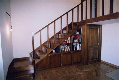 scale per librerie in legno scala in legno con mobile sottoscala collezione classica