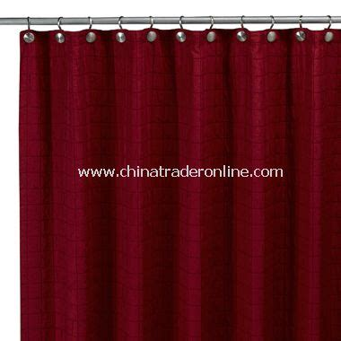 red shower curtains cheap wholesale parachute red fabric shower curtain buy discount