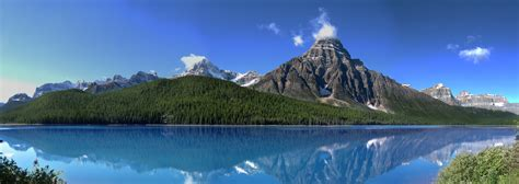 fjord in canada free images mountain range panorama reflection fjord