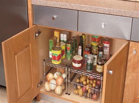 Kitchen Cabinet Pot Organizer by Simple Tips For Organizing Kitchen Cabinets Kitchen