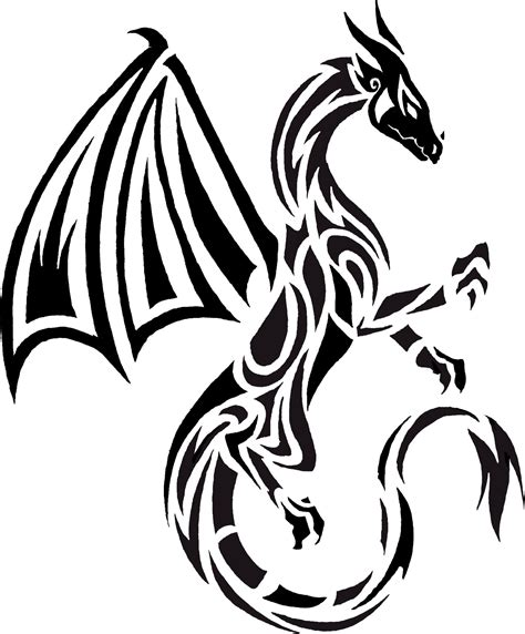 tribal dragon tattoos pictures another idea dragons