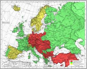 Ww1 Europe Map by Maps Map Of Europe Wwi