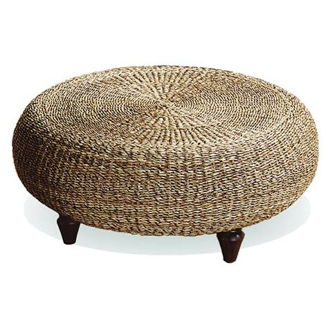 Tropical Ottoman Tropical Ottoman Coffee Table Banana Fiber Dcg Stores