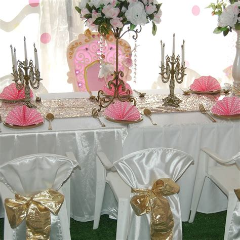 childrens party theme hire perth table buffet garden