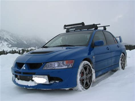 Mitsubishi Lancer Roof Rack by Show Me Your Evo With Roof Rack Evolutionm Mitsubishi