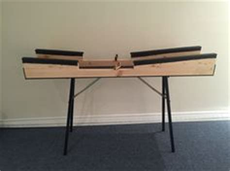 cross country ski waxing bench table fartage 2 skis 224 la fois ski de fond pinterest