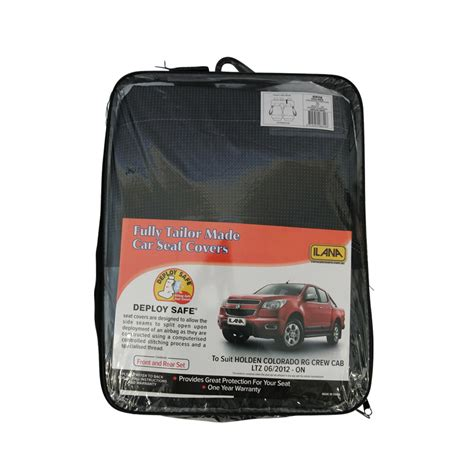 holden colorado seat covers car seat covers holden colorado crew cab dual rg ltz