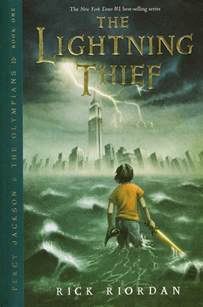Lightning Thief Rally The Readers Review The Lightning Thief By Rick Riordan