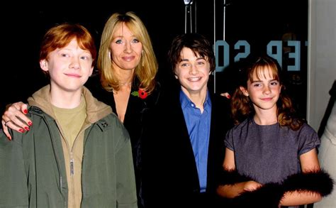 Harry Potter And The Cursed Child Hc Jk Rowling jk rowling and the harry potter cast through the years