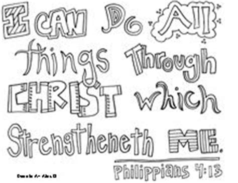 Coloring Page For Philippians 4 13 by Philippians Coloring Page Coloring Pages