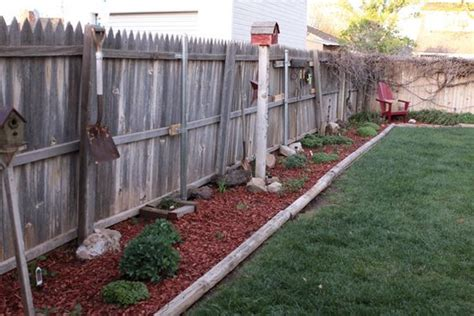 Landscape Timbers Planting Bed Flower Beds With Landscape Timbers Backyard Flowerbeds