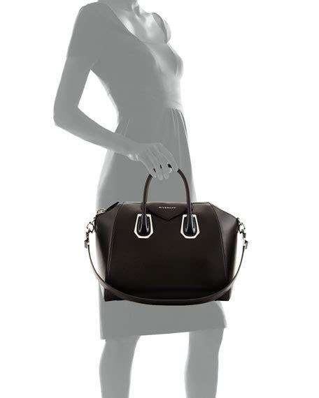 Givenchy Antigona Black Hardware 1 givenchy antigona medium satchel bag with plexi hardware