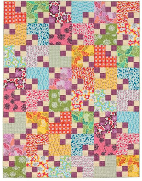 Easy Patchwork Quilts - easy quilts to sew in a weekend stitch this the