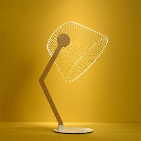 bulbing ziggi unique modern table lamp minimalist led