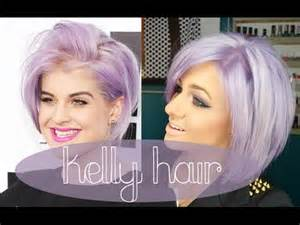 how to get osbournes haircolor how to kelly osbourne hair lilac lavander purple hair