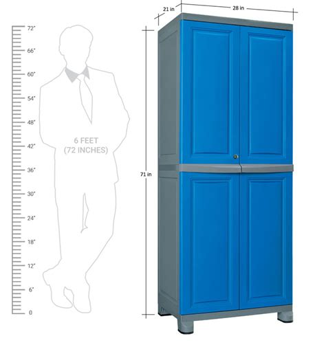 Nilkamal Plastic Wardrobe by Freedom Blue And Grey Wardrobe By Nilkamal By