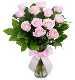 pink roses with vase gift flowers hk