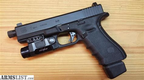 glock 17 tactical light armslist for sale trade glock 17 gen4 tactical