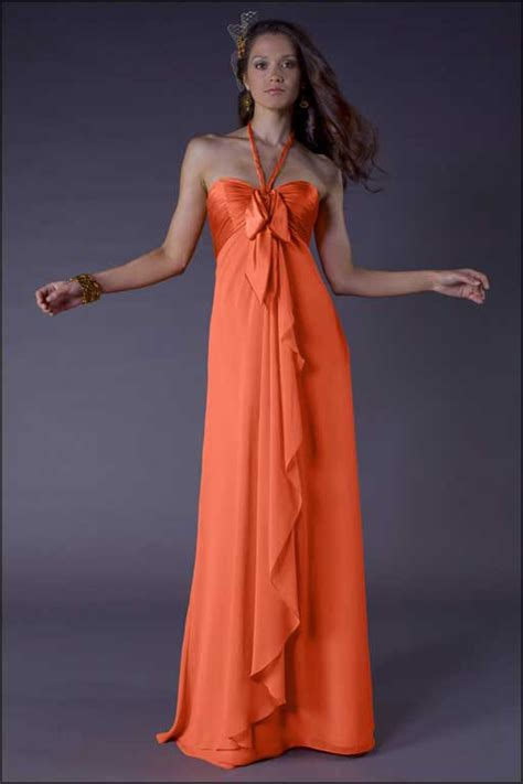 Orange Bridesmaid Dress by Bridesmaid Gowns And Dresses Bridesmaid Dresses