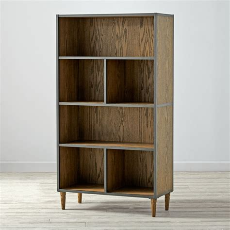 land of nod bookcase tall brown fulton street bookcase the land of nod