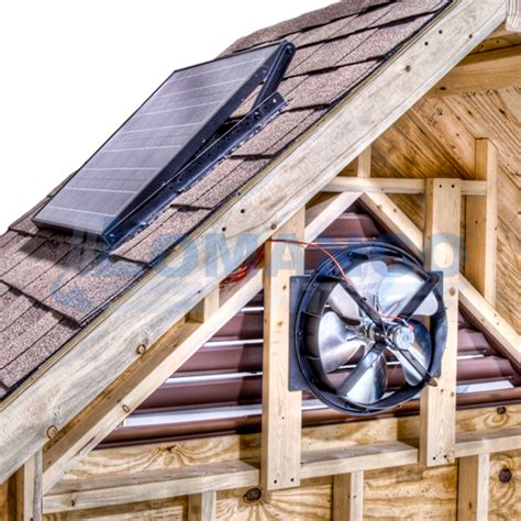 lomanco gable mounted attic omni solar gable vent online store
