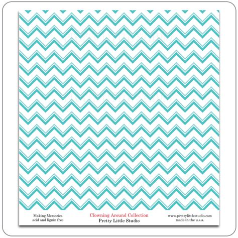 How To Make Paper Patterns - pretty studio clowning around reveal pattern