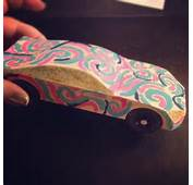 My Attempt At Pinewood Derby Design And Stuff  Girly Gears